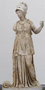 Statue of Minerva - Roman artwork of the Imperial era, 2nd ...