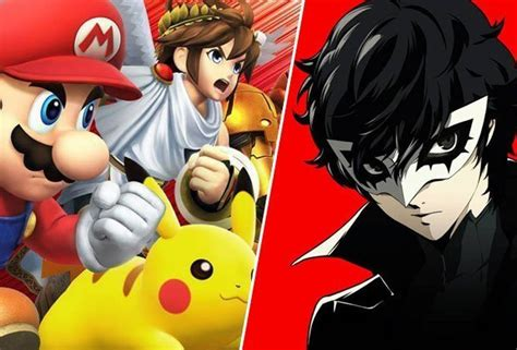 smash bros ultimate characters dlc persona 5 reveal teases more new switch fighters ps4