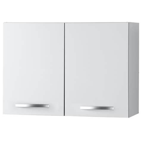 element haut de cuisine meuble haut de cuisine l 80 cm blanc mat achat