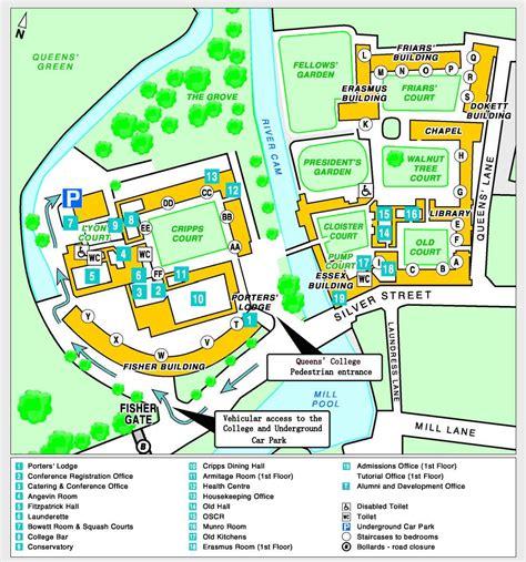 site map queens college