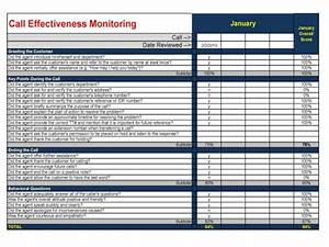 Call monitoring template 28 images call center for Call monitoring template