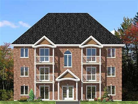 plex multi family house plan pd architectural designs house plans
