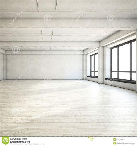 Empty Clean Loft Stock Photo - Image: 44250639