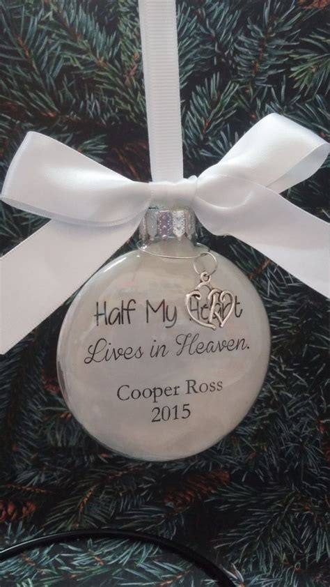 memorial christmas ornament  memory  loved