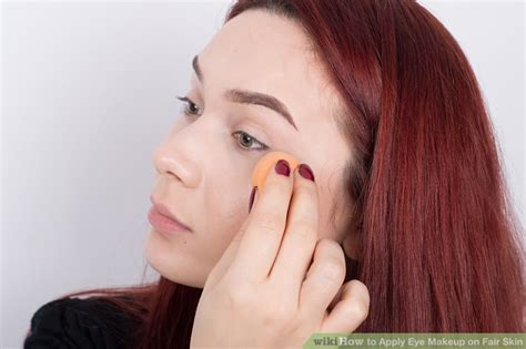 How To Apply Eye Makeup On Fair Skin  Steps With Pictures