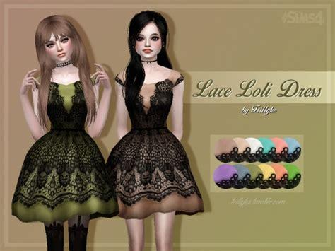lace loli dress  trillyke sims  updates