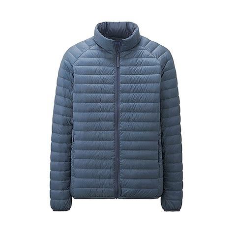 ultra light down jacket uniqlo ultra light down jacket in blue for men lyst