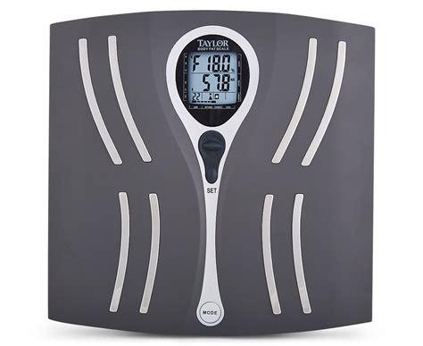 taylor body fat bathroom scale scoopon shopping