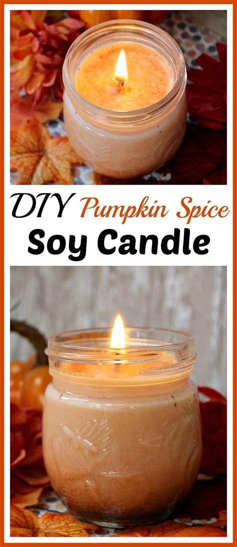 Diy Pumpkin Spice Soy Candle