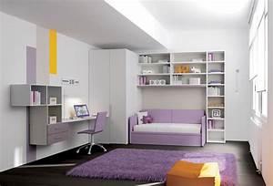 Lit Maison Enfant : chambre enfant avec lit canap lit gigogne moretti ~ Farleysfitness.com Idées de Décoration