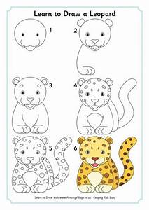 How To Draw Easy Animals Step By Step Image Guide