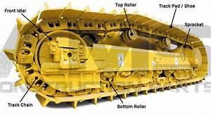 Caterpillar Excavator Undercarriage Replacement Parts