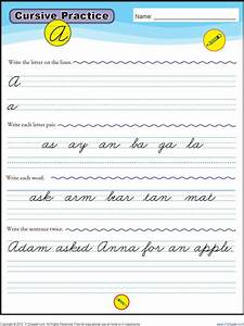 10  Cursive Writing Templates Free Download