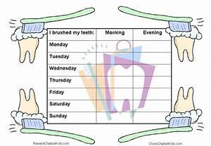 Reward Charts For Healthy Teeth