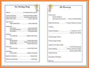 Free Church Program Bulletin Templates