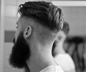 Coupe De Cheveux Homme Hipster : coupe de cheveux homme plaque sur le cote coiffures la mode de cette saison ~ Dallasstarsshop.com Idées de Décoration