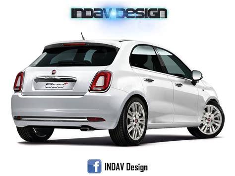 Auto 5 Porte Fiat 500 5 Porte Nuovo Rendering Della Futura City Car Di
