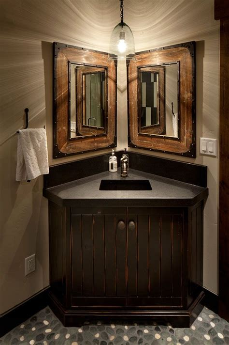Corner Bathroom Sink Ideas by 25 Best Ideas About Corner Bathroom Vanity On