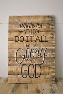 Wood Wall Art Q... Plank Art Quotes