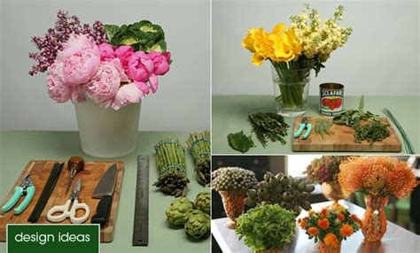 step by step flower arranging for beginners flower arranging basics epicurious com epicurious com