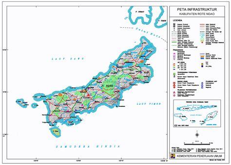 peta kota peta kabupaten rote ndao