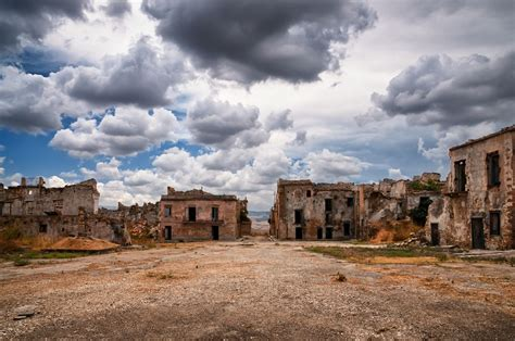 haunted towns poggioreale making of a sicilian ghost town sicily uncovered