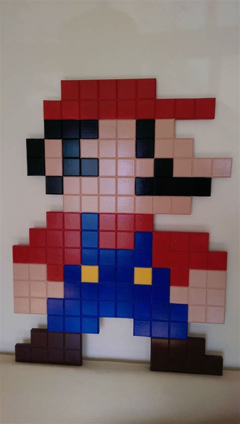 8 Bit Mario From Wood Do It And How