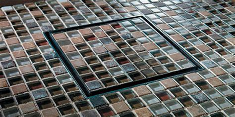 styledrain tile showing mosaic tile inlay lo res