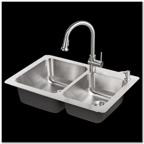 kitchen sink combo glacier bay kitchen sink combo kit sink and faucet 2630