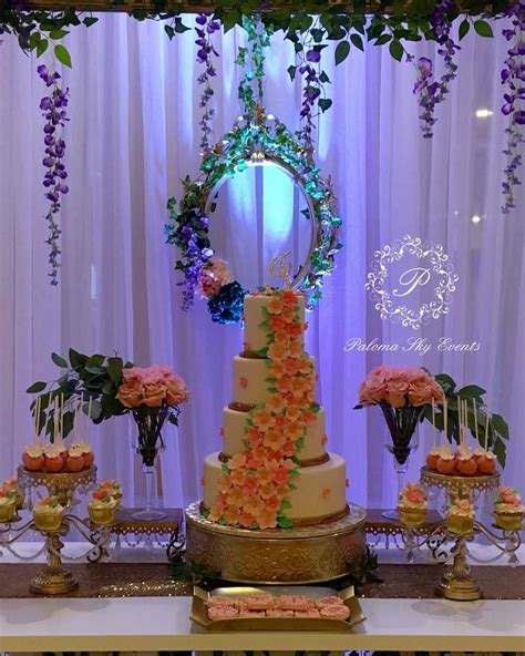 enchanted forest quinceanera party ideas photo