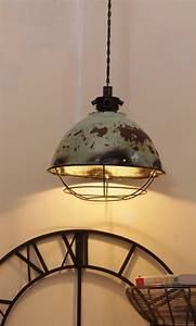 Suspension Luminaire Industriel : luminaire suspension retro industriel ~ Teatrodelosmanantiales.com Idées de Décoration