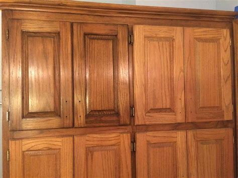 how to stain oak cabinets honey oak cabinets refinish deductour com