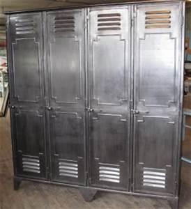 Casier Vestiaire Industriel : conseil pour peindre un casier style industriel ~ Teatrodelosmanantiales.com Idées de Décoration