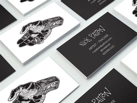 artist business cards artist business cards business