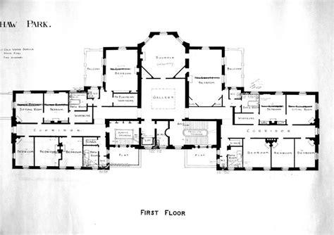 mansion floorplans ottershaw park