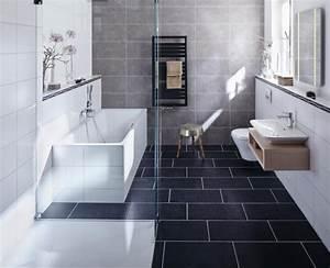 Badezimmer Grau Weiß : badezimmer modern einrichten 31 inspirierende bilder ~ Markanthonyermac.com Haus und Dekorationen