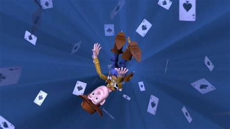 When The Toys Are Playing Cards During Woody's Nightmare