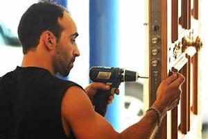 securisation d39habitation et commerces porte blindee With montage porte blindée