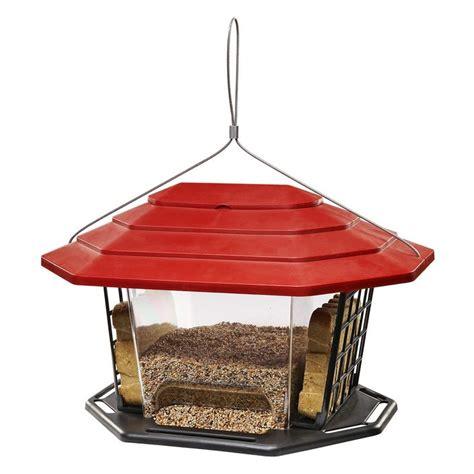 lowes bird feeders garden treasures suet and seed hopper feeder lowe s canada
