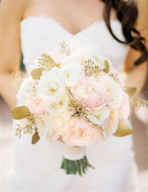 romantic chicago loft wedding wedding bouquets gold