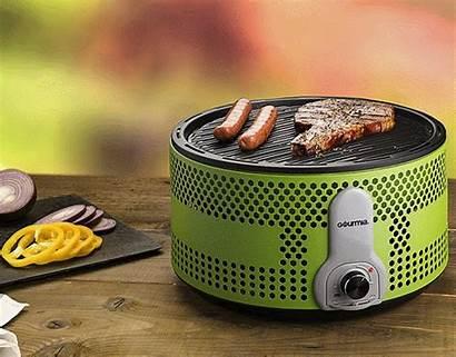 Gourmia Grill Portable Bbq Electric Charcoal