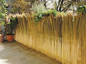 Natürlicher Sichtschutz Garten : farnmatten nat rlicher sichtschutz aus farnhalmen f r garten ~ Watch28wear.com Haus und Dekorationen