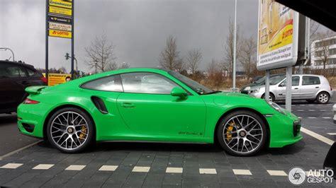 porsche signal green paint signal green porsche 911 turbo is something else