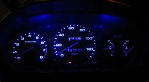 Details About Jeep Yj Wrangler Blue Led Speedometer Gauge