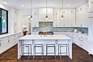 200 beautiful white kitchen design ideas that never goes With kitchen cabinet trends 2018 combined with metal wall art large