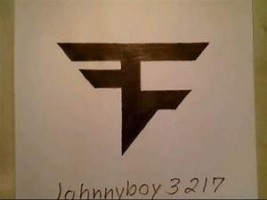 How To Draw FaZe Clan Logo Sign Symbol Emblem Easy Doodle ...
