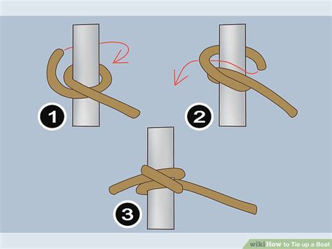 How To Moor A Boat by How To Tie Up A Boat 9 Steps With Pictures Wikihow
