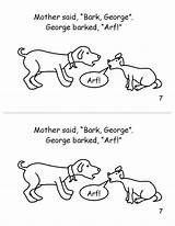 George Bark sketch template