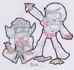 Transformers Wheeljack X Ratchet