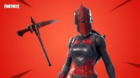 red knight   hd fortnite battle royale wallpaper
